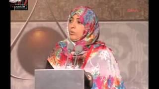 كلمة توكل كرمان, تركيا, مؤتمر الربيع العربي