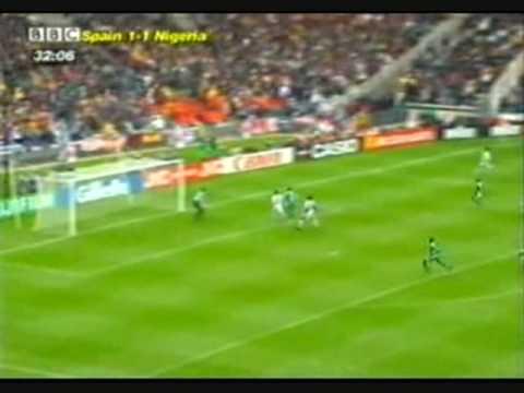 Nigeria vence a España por 3 - 2, en el Mundial de Francia 1998