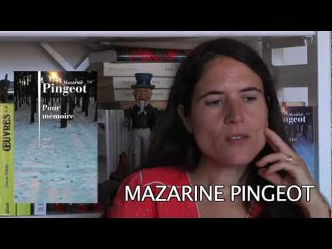 Vid�o de Mazarine Pingeot