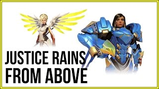 In this Overwatch Brawl you are only allowed to pick either Pharah OR Mercy... Both Female heroes that can fly! Hints the name JUSTICE RAINS FROM ABOVE. I really hope you guys liked this episode. Let me know what you would have liked for me to do differently in the comment section below!Subscribe For More Here: https://goo.gl/yL2Ef0Subscribe To My Main Tech Channel Herehttp://goo.gl/HvGI4O----------------------------------------------------------------------------------FOLLOW ME ON TWITCHhttp://www.twitch.tv/technologyguruMY TWITTER: https://twitter.com/#!/TechGuru77MY FACEBOOK: http://www.facebook.com/pages/TechGur...MY GOOGLE+ https://plus.google.com/techguru77MY INSTAGRAM:http://instagram.com/dmporter17WEBSITES: http://www.youtubecreatorshub.comGROW YOUR YOUTUBE CHANNEL LISTEN TO OUR PODCAST: http://goo.gl/6dnF54