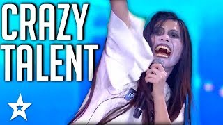 Video CRAZIEST TALENT All Around The World | Got Talent Global MP3, 3GP, MP4, WEBM, AVI, FLV Agustus 2018