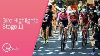 Giro d'Italia: Stage 11 - Highlights