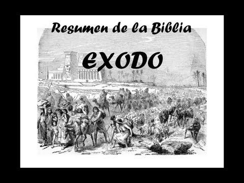 BIBLIA - EXODO - RESUMEN Y ANALISIS