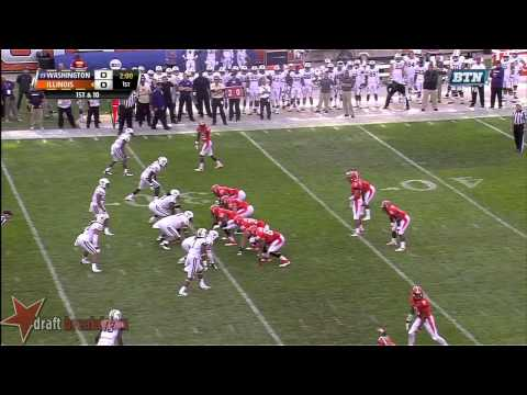 John Timu vs Illinois 2013 video.