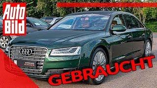 Audi A8 W12 6.3 FSI (2015): Auto - Gebrauchtwagen - Preis by Auto Bild