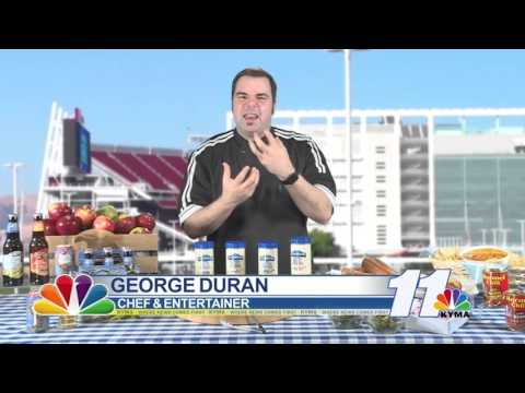 Chef Duran joins Sunrise for Super Bowl party ideas