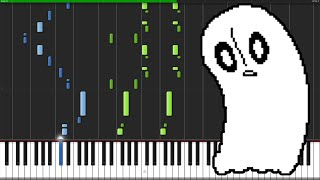 Ghost Fight - Undertale [Piano Tutorial]