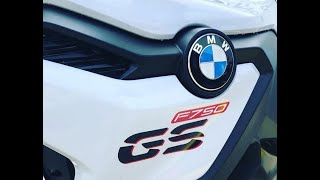 2. 2019 BMW F750 GS First Ride