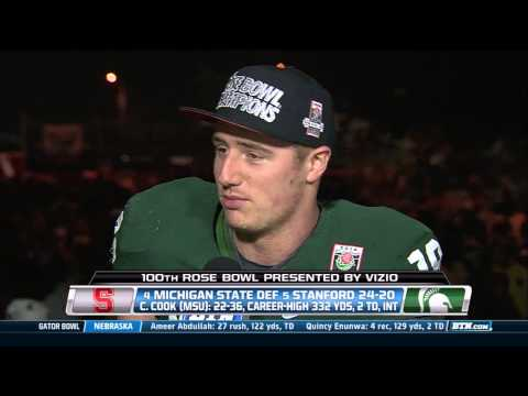 Connor Cook Interview 1/1/2014 video.