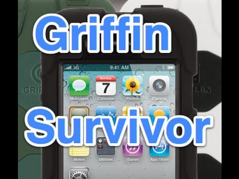Griffin technology - In this video I review the all new Griffin Survivor Case for the iPhone 4. FOLLOW me on TWITTER for UPDATES and GIVEAWAYS: http://www.twitter.com/lgreenberg ...