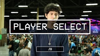 Player Select features pro gamers, talent, and OGs from the floor of EVO 2017. Featuring Jonathon Bautista 'Jb' on Day 1.----------------------------------------------------------------------This is Red Bull eSports; your digital source for the latest news, tournament coverage, interviews, video features, and broadcasts for the Red Bull competitive gaming family.Follow us on Twitter: https://twitter.com/redbullesportsLike Red Bull eSports on Facebook: https://www.facebook.com/redbullesports/Subscribe: http://win.gs/SubToeSports