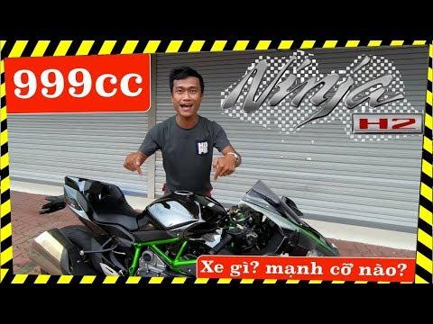 Kawasaki Ninja H2: CÓ TIỀN cũng KHÓ MUA - chốt giá 888tr ra biển số - Thời lượng: 7:42.