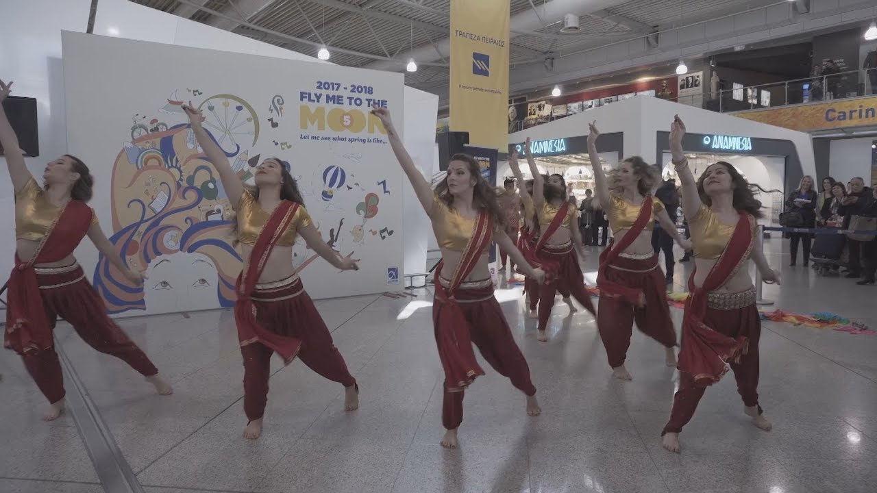 «Bollywood at the airport» στο ΕΛ. ΒΕΝΙΖΕΛΟΣ