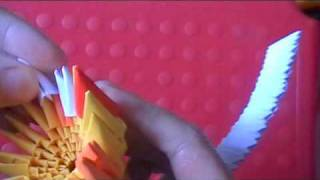 3D origami: mini owl