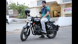 7. Royal Enfield Classic 500 (ABS) Stealth Black In-Depth Review and Should you buy one ?