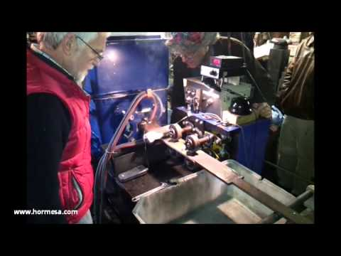 HORMESA Horizontal continuous casting of brazing alloys