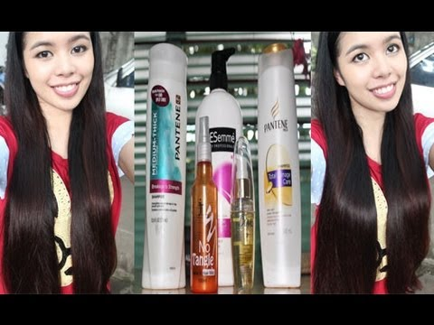 Hair - A lot of you have been asking this video so here it is! I usually do not comb my hair when it is wet, but there are times where I JUST HAVE TO comb my hair i...