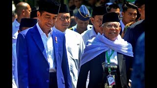 Video Resmi, Jokowi dan Ma'ruf Amin, Capres-Cawapres 2019 MP3, 3GP, MP4, WEBM, AVI, FLV September 2018