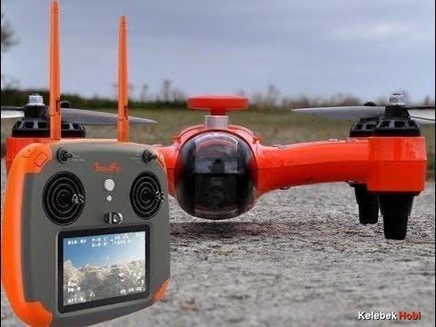 Swellpro deniz, göl, yağmur, kar, su altı %100 su geçirmez 4K hd kameralı drone