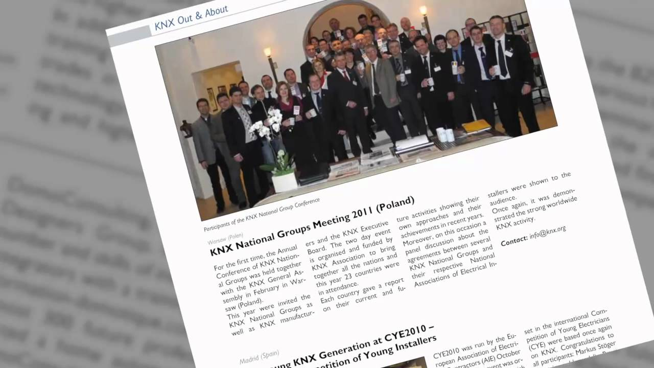 Two years of KNX achievements: 2010-2012