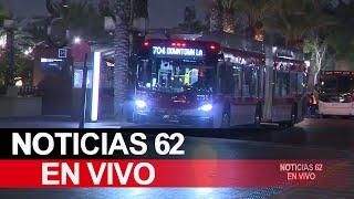 Inseguridad en transporte público – Noticias 62 - Thumbnail