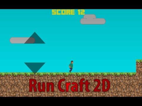 Video of RunCraft 2D