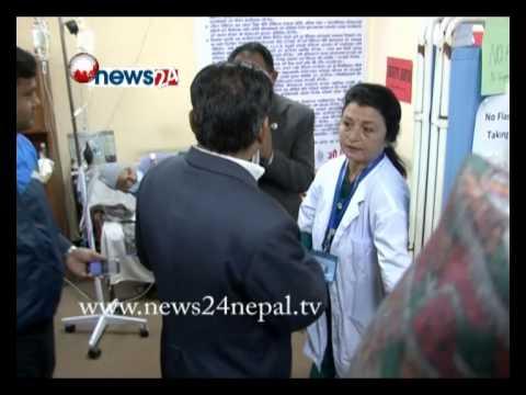 चिकित्सक गोविन्द केसीको आमरण अनसनको नौ दिन पुरा