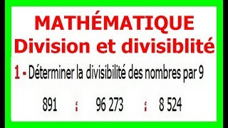 Maths 6ème - Division et divisibilité Exercice 7