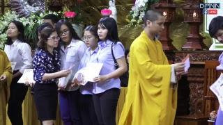 LỄ TRAO HỌC BỔNG ĐẠO PHẬT NGÀY NAY NĂM 2018 (Dành cho Tăng, Ni & Sinh viên)