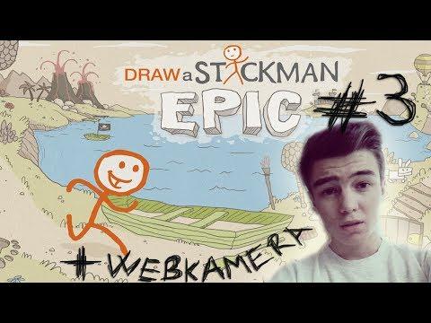 CZ | Draw A Stickman: Epic | #3 - Zombíci útočej