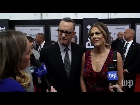 'The Post' premiere: Red carpet interviews with Meryl Streep, Tom Hanks, and more