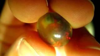 Ethiopian Wello Opal Polished Crystal Gemstone 4.1 CT