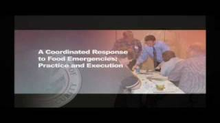 A Coordinated Response To Food Emergencies: Practice And Execution (PER-273)