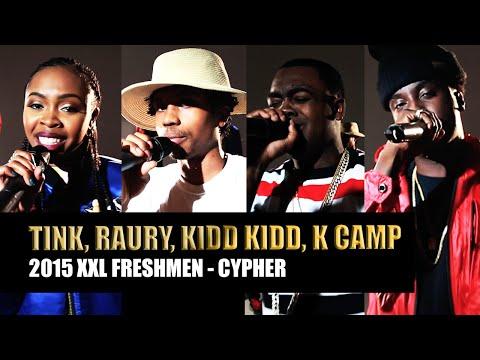 Kidd-Kidd--K-Camp--Tink---Raury---2015-XXL-Freshmen-Cypher