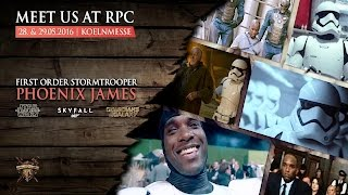 Phoenix James appearing at RPC 10th Year Anniversary in Cologne Germany