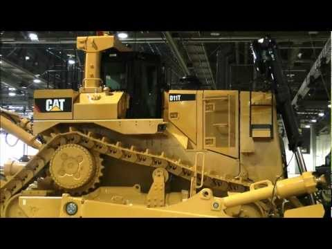 CAT D11T - On display at Minexpo 2012 in Las Vegas convention center.
