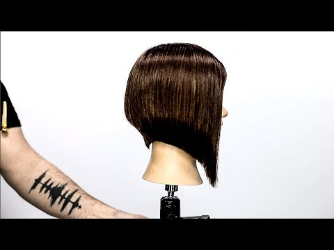Hair cutting - Short To Long Bob Haircut Tutorial