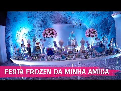 Video FESTA DE ANIVERSÁRIO TEMA FROZEN DA MINHA AMIGUINHA download in MP3, 3GP, MP4, WEBM, AVI, FLV January 2017