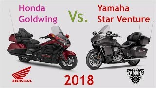 8. HOT NEWS!!!  Comparison 2018 Honda Gold Wing® VS 2018 Yamaha Star Venture