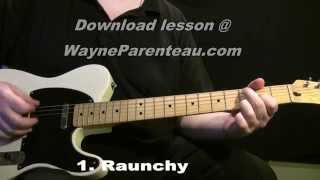 Download Lagu Raunchy The Ventures - Guitar Lesson + Backing Track Mp3