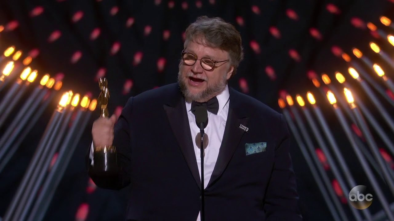 Guillermo del Toro Oscars 2018 Speech for Best Directing