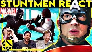 Video Stuntmen React To MARVEL Bad & Great Hollywood Stunts MP3, 3GP, MP4, WEBM, AVI, FLV September 2019