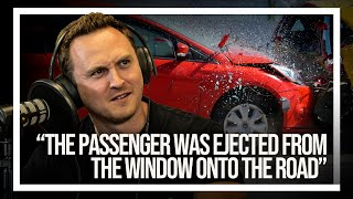 Ejecting A Thief Out Of His Car Window With A Lucky T-Bone Crash   Your Car Stories by Car Throttle