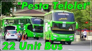 Video PESTA TELOLET 22 UNIT BUS!!, Menyambut HUT Gudang Garam ke 59 | Ada Pandawa 87 AVANTE MP3, 3GP, MP4, WEBM, AVI, FLV Januari 2019