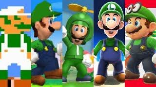 Download Lagu Evolution of Luigi in Super Mario Games Mp3