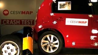 Crash Test Trasero Seat Mii