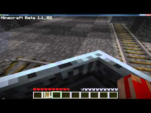 Minecraft Tutorials: How to make a Minecart And Rails
