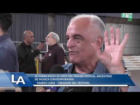LA MUNICIPALIDAD ESTA ORGANIZANDO VOLVER A HACER EL FESTIVAL: NOTA A MARIO LUNA, CREADOR DEL FESTIVAL DE ROCK DE LA FALDA