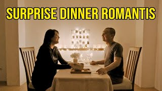 Video SURPRISE DINNER ROMANTIS BUAT ISTRI.. EH BAYI NANGIS! 😂 MP3, 3GP, MP4, WEBM, AVI, FLV Juni 2019