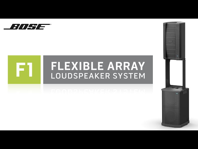 Bose F1 Flexible Array Loudspeaker System